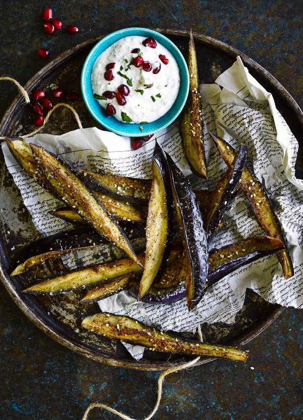 Aubergine Fries Recipe With Sumac and Honey