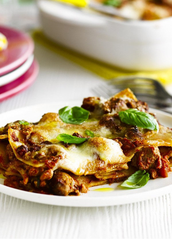 Italian Sausage Lasagne Recipe with Fennel