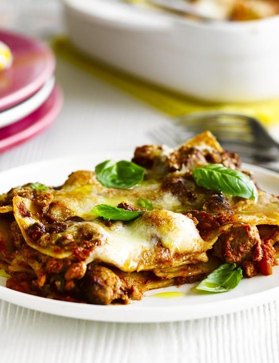 Italian Sausage Lasagne Recipe with Fennel