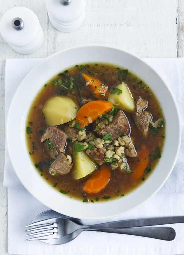 Healthier lamb stew