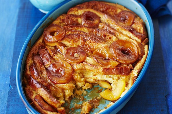 Apple Bread and Butter Pudding Recipe