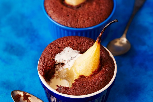 Pear and Chocolate Pudding Recipe