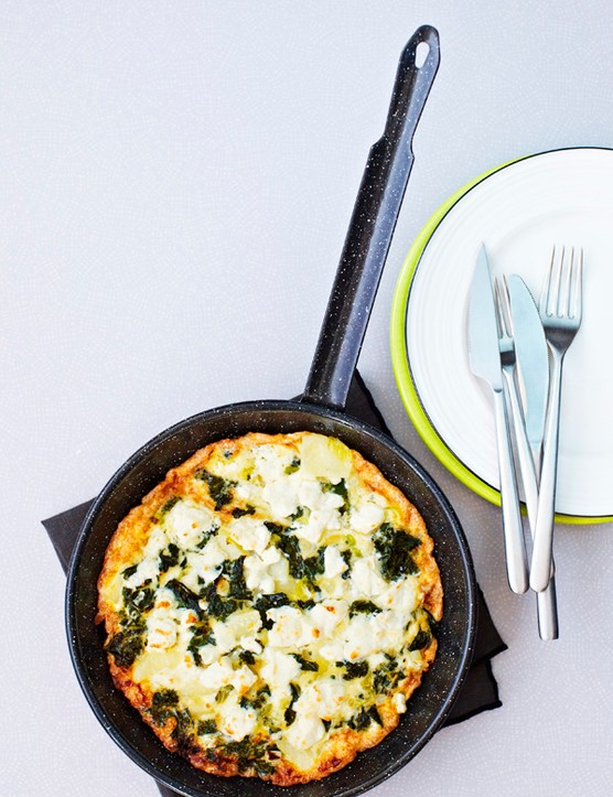 Kale Frittata Recipe with Kale