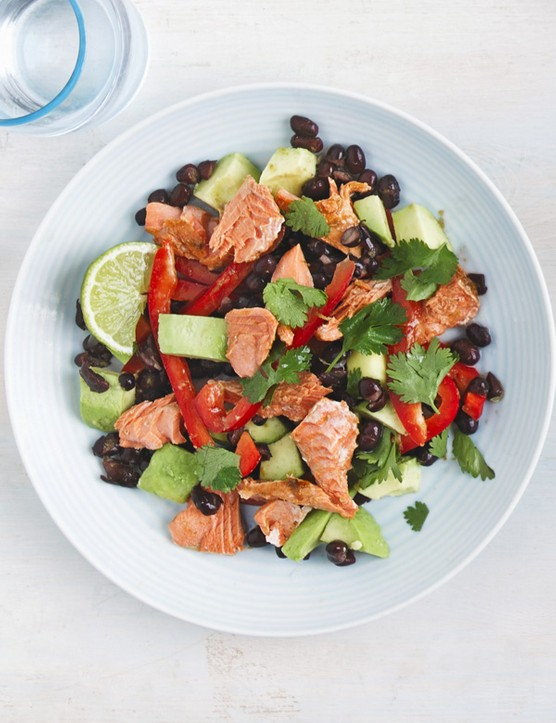 Chipotle Alaskan salmon salad