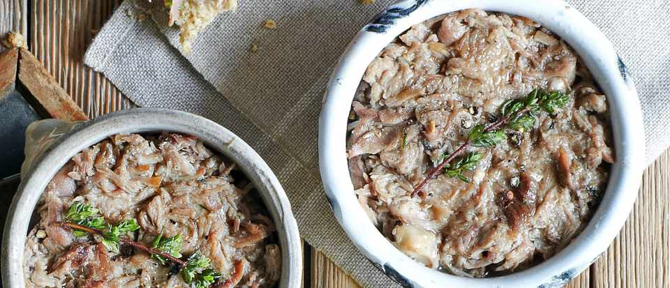 Duck and Pork Rillettes | Everyday Gourmet S6 E15 - YouTube