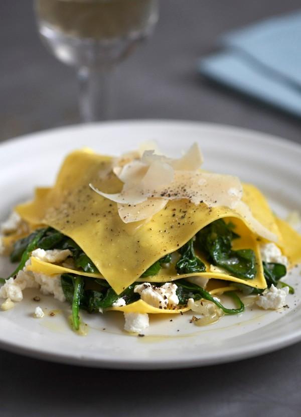 Ricotta Ravioli Recipe with Spinach
