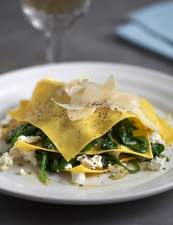 Ricotta Ravioli Recipe with Spinach