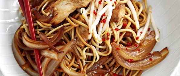 Chicken Sesame Noodles Recipe Olivemagazine