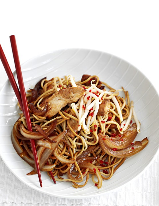 Chicken sesame noodles recipe