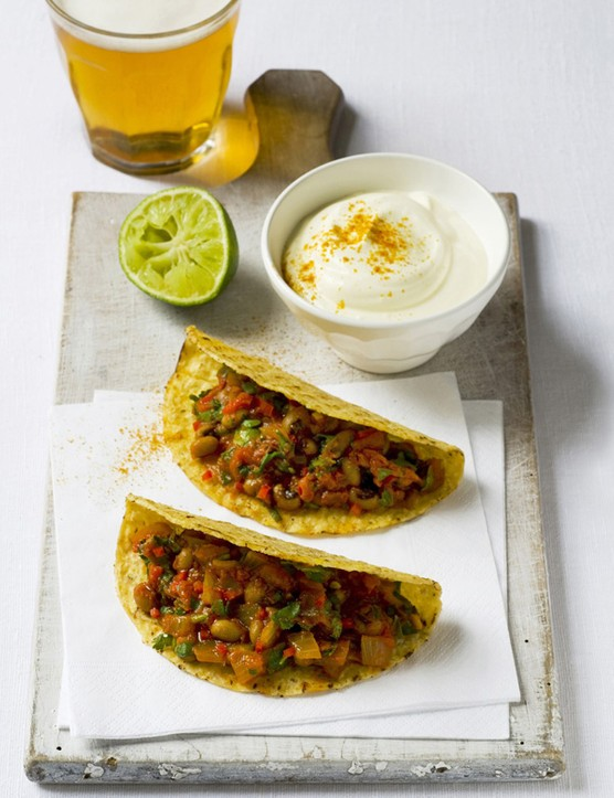 Chilli Tacos Recipe with Beans