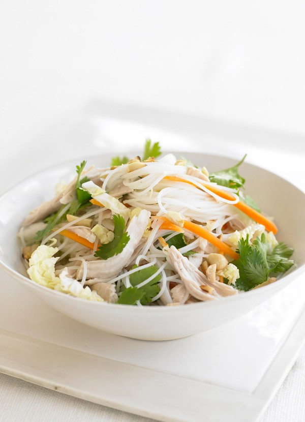 Vietnamese turkey salad