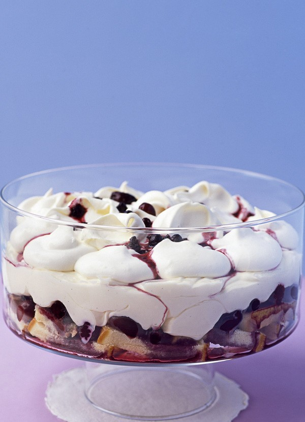 Winter Berry Trifle Recipe