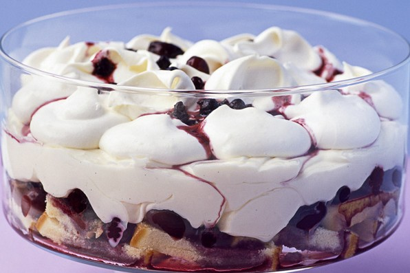 Winter Trifle Recipe with Berries