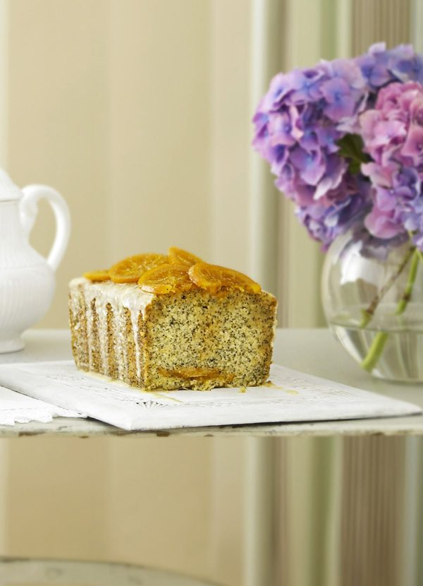 Orange and Poppy Seed Victoria Sponge Recipe