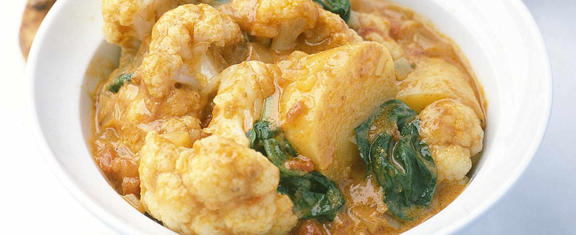 Vegan Cauliflower Curry Recipe