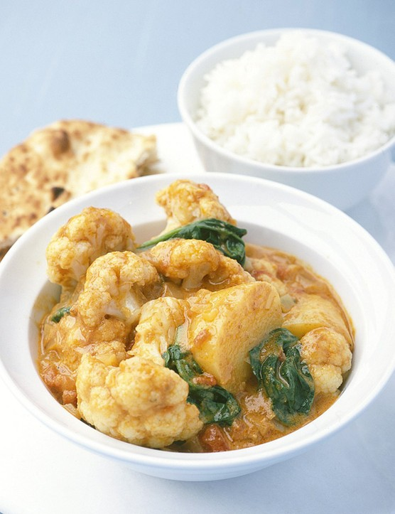 Vegan Cauliflower Curry Recipe