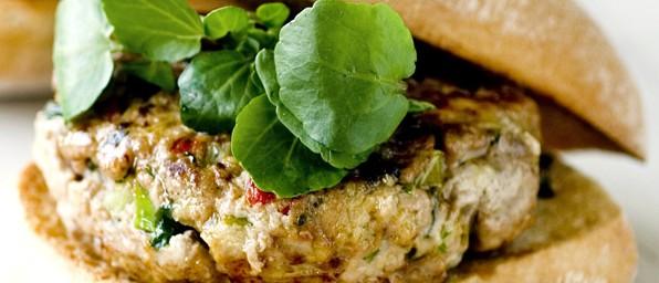 Thai Turkey Burgers Recipe Olivemagazine