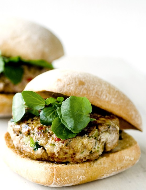 Thai Turkey Burgers Recipe