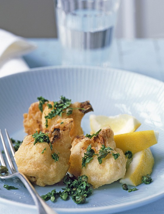 Cauliflower Patties Recipe with Capers