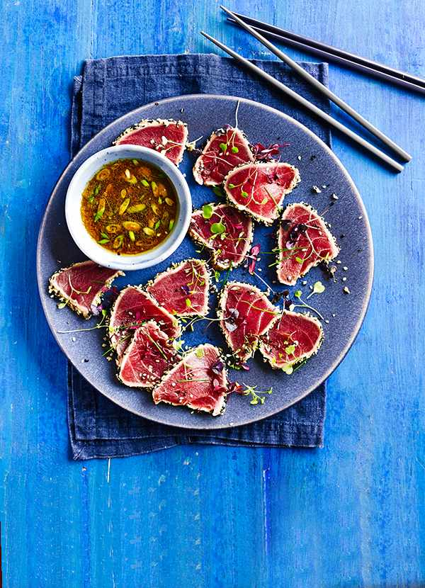 Seared Tuna Tatatki Recipe