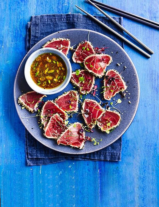 Seared Tuna Tatatki Recipe