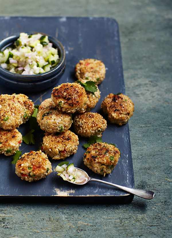 Thai Fishcakes Recipe With Sweet and Sour Cucumber