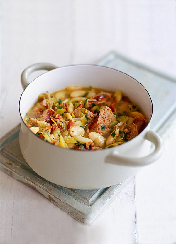 Toulouse Sausage Casserole Recipe With Butter Beans Olivemagazine