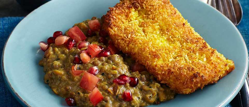 Dahl Recipe with Coconut Pollock