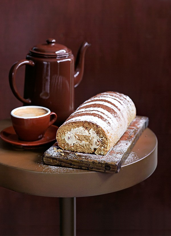 Coffee Swiss Roll Recipe