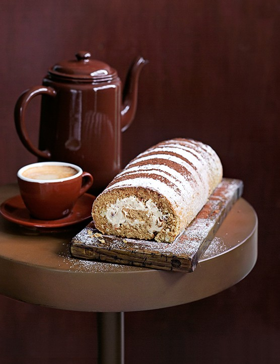 Coffee Swiss Roll Recipe