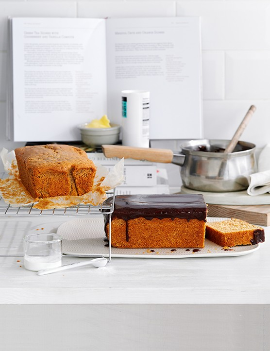 Coffee Loaf Cake Recipe with Chocolate Coffee Frosting