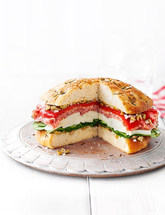 Italian Picnic Loaf Recipe