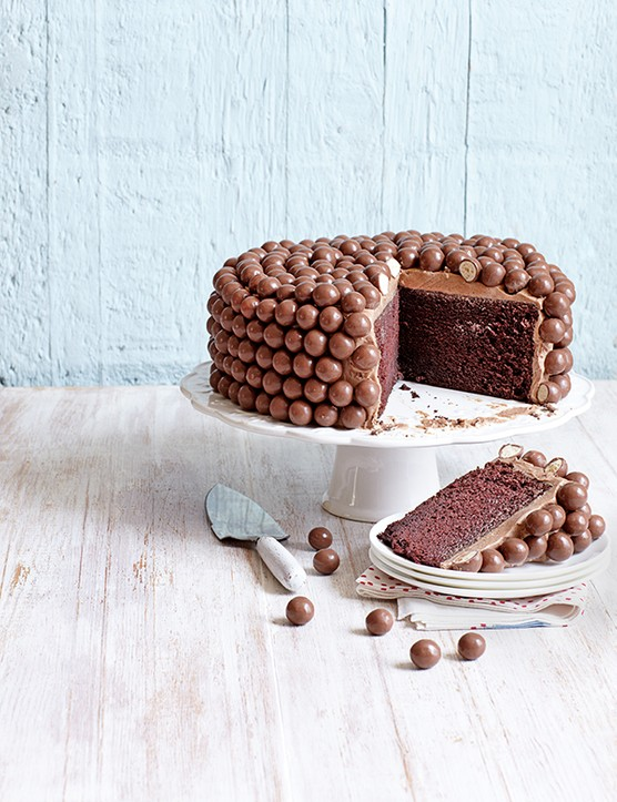 Maltesers Chocolate Chiffon Cake Recipe