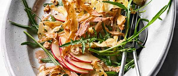 Parsnip Salad Recipe With Hazelnuts and Honey
