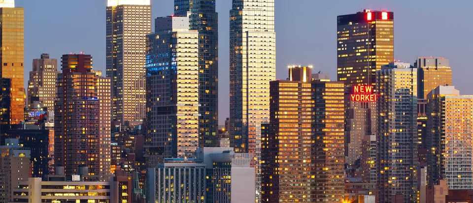 Manhattan scene, New York City