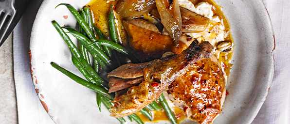 Roast Guinea Fowl Recipe With Cardamom and Chilli Butter