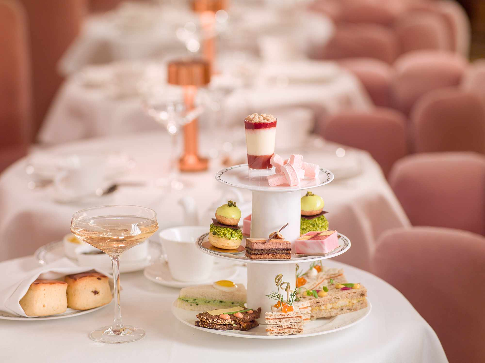 Afternoon tea at Sketch Afternoon Tea in London: Best 25 Tea Rooms and Hotels To Visit in 2018