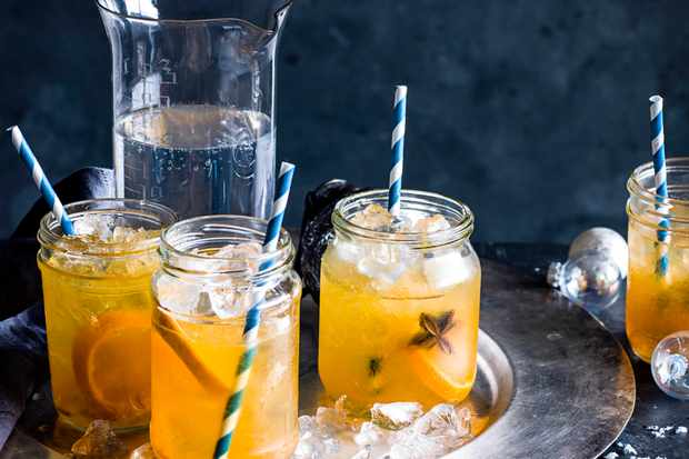 Mojito Recipe with Marmalade and Mandarin