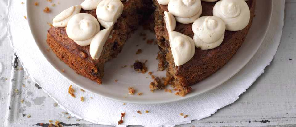 Carrot Cake Recipe with Muscovado Sugar