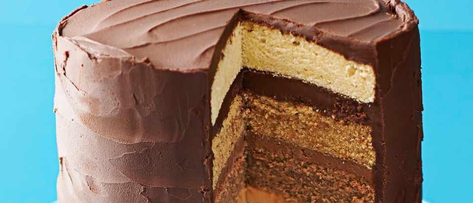 Chocolate Caramel Cake Recipe For Ombre Cake