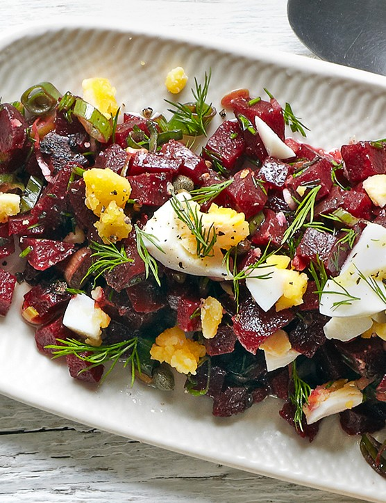 Beetroot Salad with Caper and Dill Recipe
