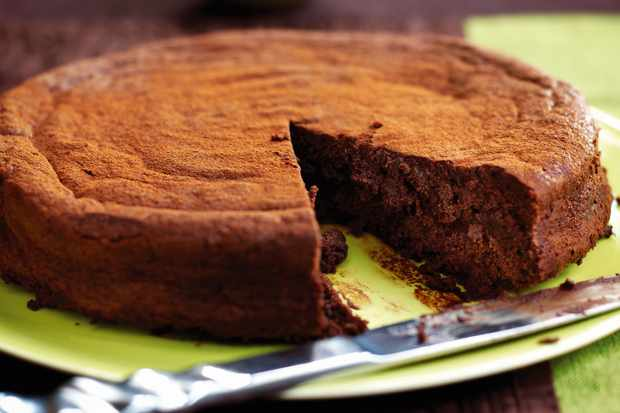 Chocolate Truffle Cake Recipe With Amaretto Cream