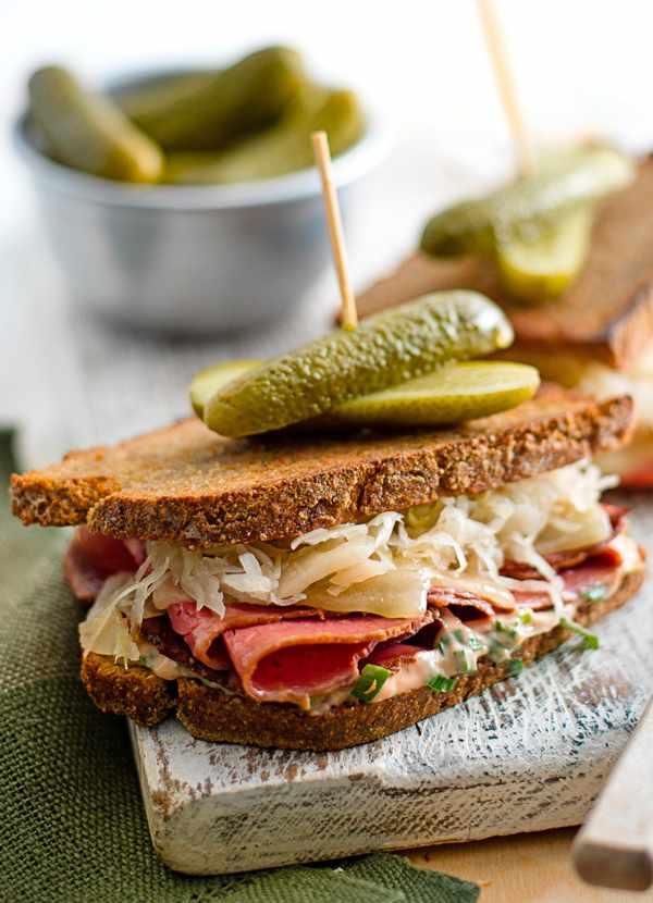 Grilled Reuben Sandwich Recipe