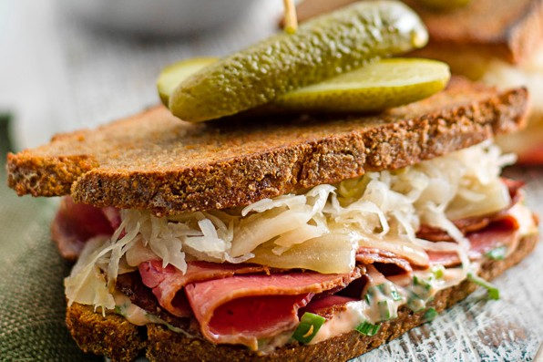 Grilled Reuben Sandwich Recipe