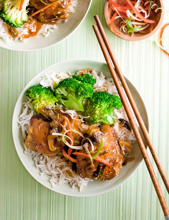 Chinese Red-Braised Chicken Recipe
