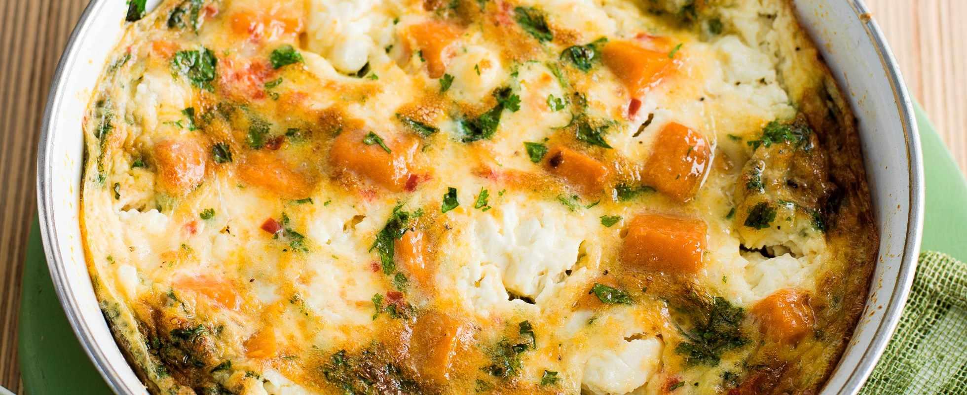 Sweet potato and chilli tortilla