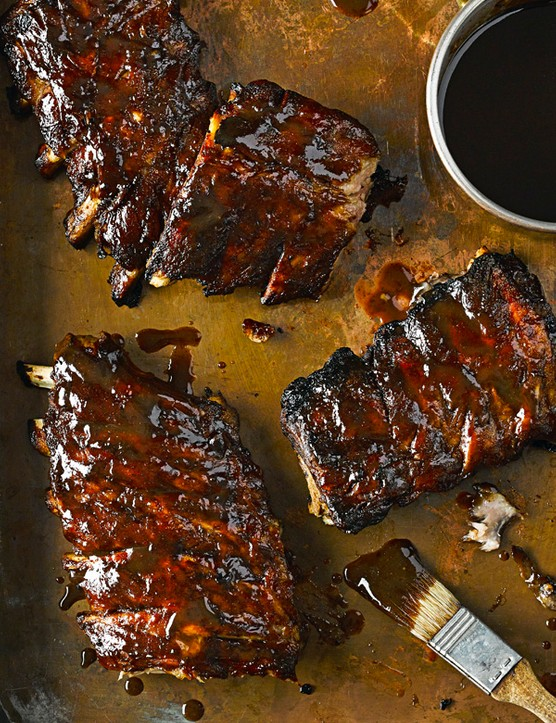Fall-Apart Bourbon Ribs Recipe