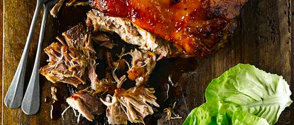 Korean slow-roast shoulder of pork