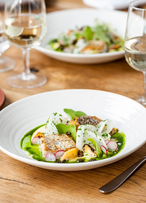 Hake and Mussels Recipe with Cider Butter