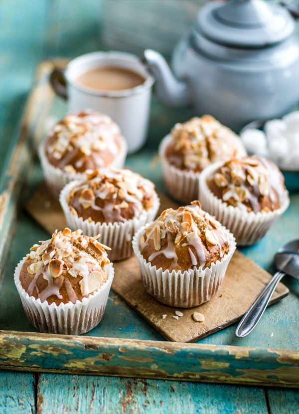 Banana Muffins Recipe with Almond Butter